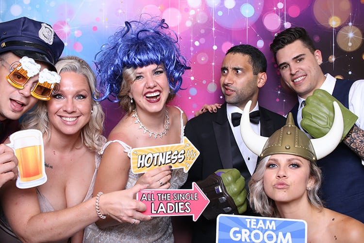 The Luxe Photo Booth at a Wedding in Chicago