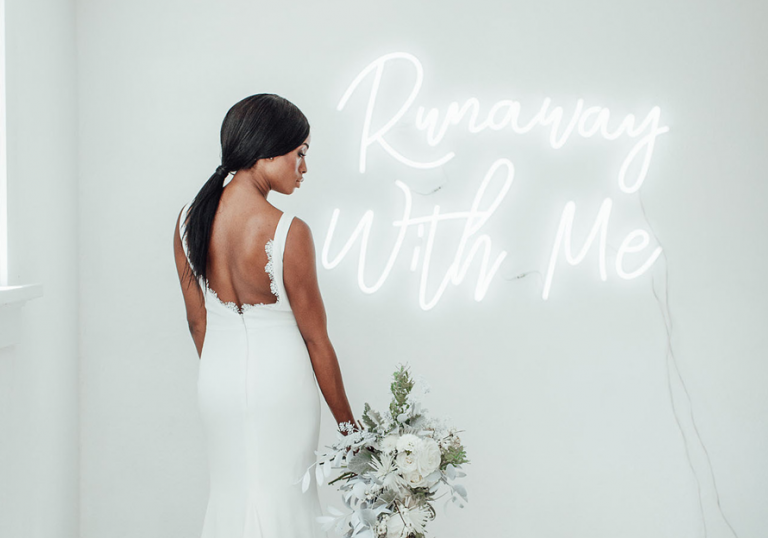 Neon Wedding Sign Ideas For Your Big Day